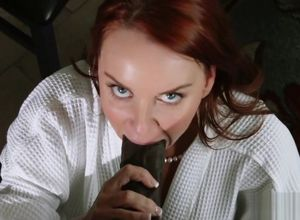 Big black cock for a Ginger-haired Mummy