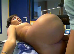 Ass-fuck lovemaking with assistant on..