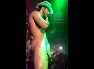 Cool  stripper with swell meatpipe in..