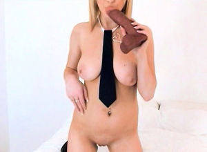 Jerking 19yo college girl plays with..