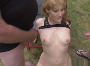 Sizzling wifey Nicole urinated on by..
