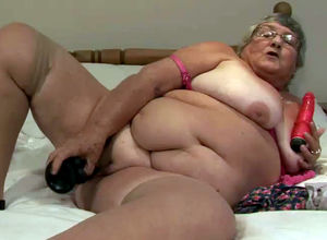 Fatty granny still super-naughty and..