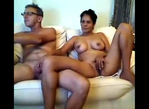 Mature filipina nymph milking elderly..