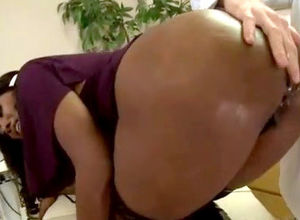onion arse dark-hued honey Nyomi..