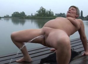 jerking and urinating outdoor