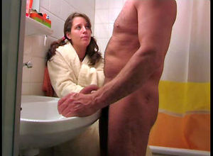 Lovely nubile  elderly man's dick,..