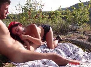 Sunny and Kendra camping pulverize