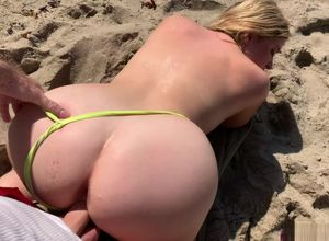 Stepmom on vacation entices stepson on..