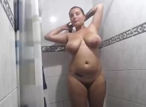 Super-steamy colombian damsel with..